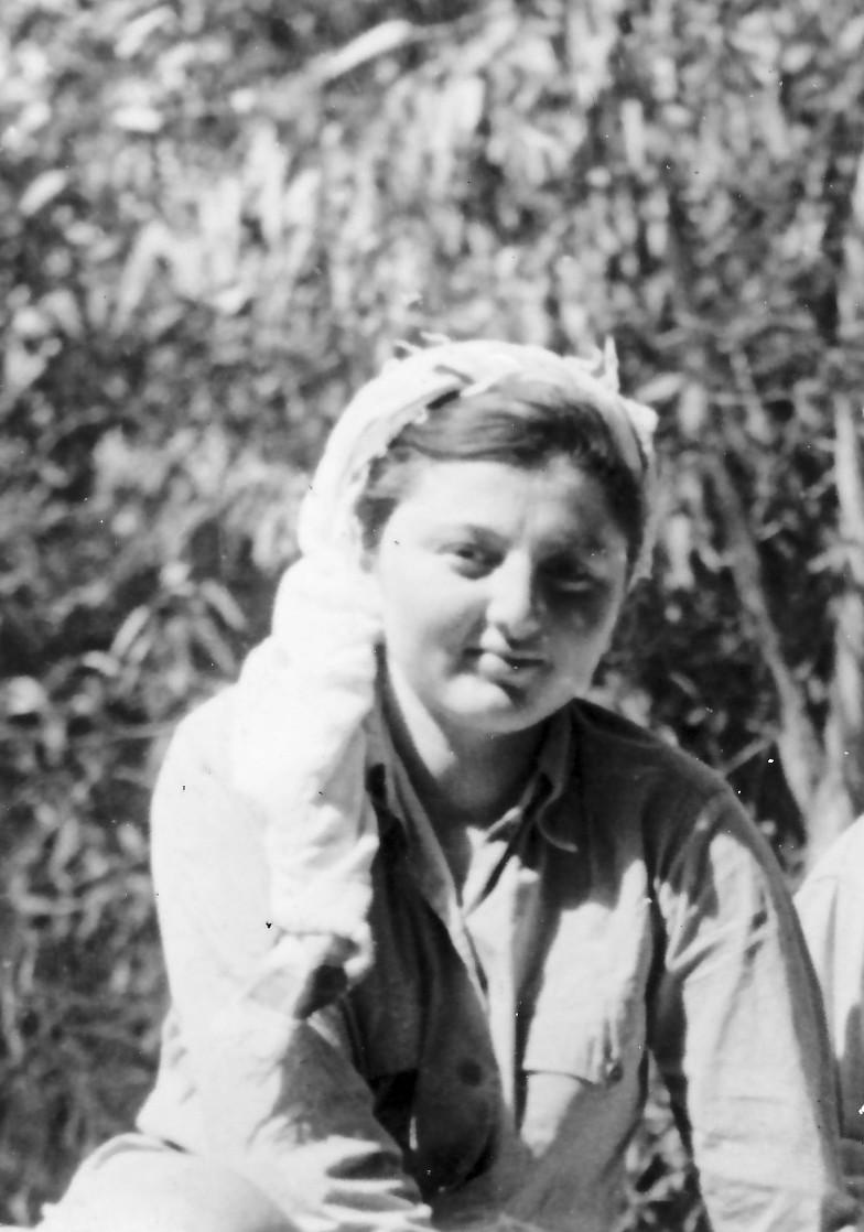 תמונה 1- 336 - דליה מקבוצת שלהבת שנספתה בתאונת דרכים יחד עם דורית וינר בינואר 1953 - שנות ה-50