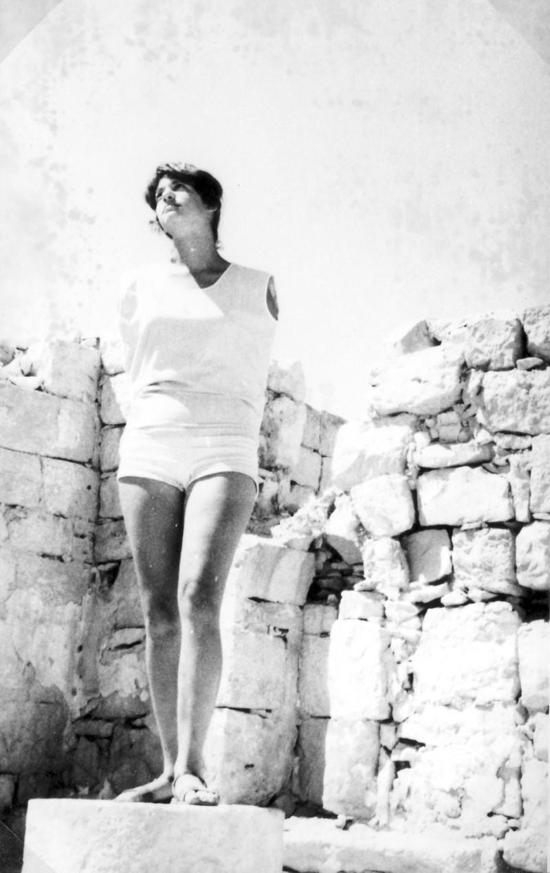 תמונה 24- 966 -ג'ש 1965-6-קב' רקפת-בטיול-דורית מרגלית