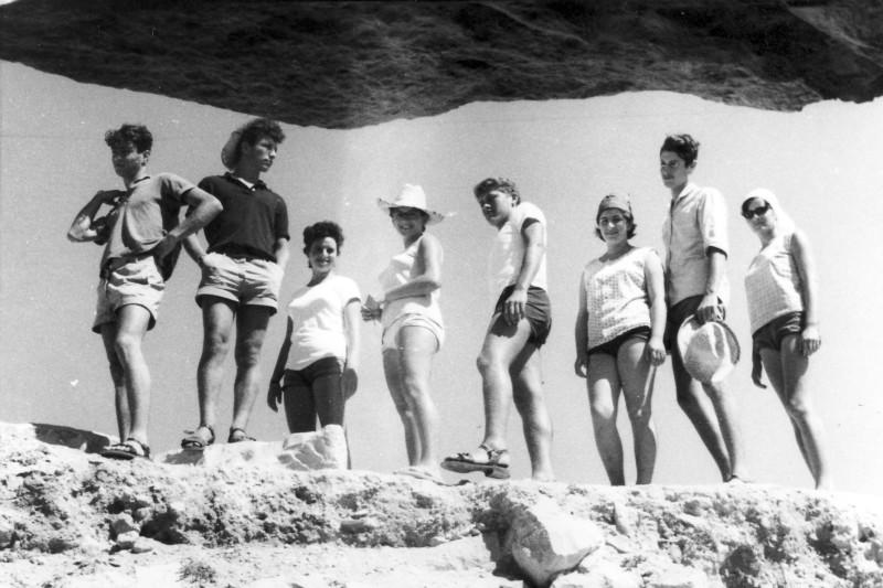 תמונה 25- 966 -ג'ש 1965-6-קב' רקפת-בטיול