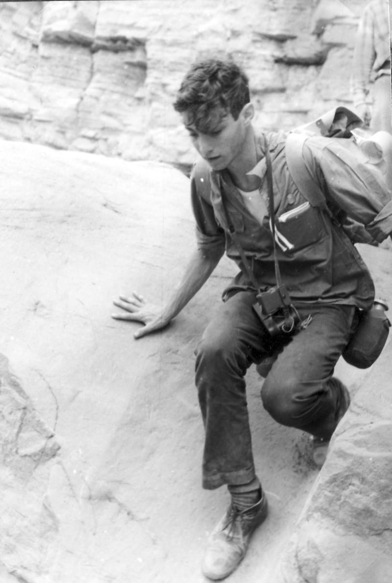תמונה 26- 966 -ג'ש 1965-6-קב' רקפת-בטיול-עמי טראוב