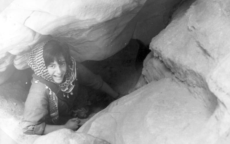 תמונה 29- 966 -ג'ש 1965-6-קב' רקפת-בטיול-דורית מרגלית