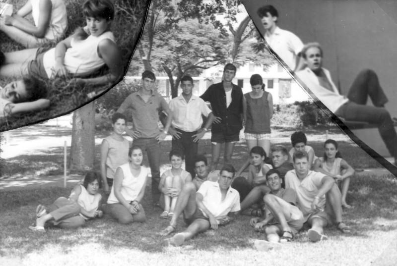 תמונה 39- 966 -ג'ש 1966-קב' רקפת-תמונת סיום-שמות בסכום
