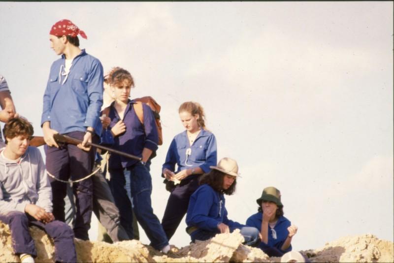 שקופית 3- 360 -גש 1985-טיול מכתשים קב חצב