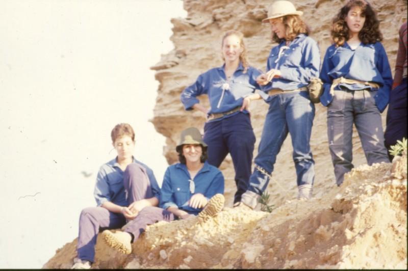 שקופית 31- 360 -גש 1985-טיול מכתשים קב חצב