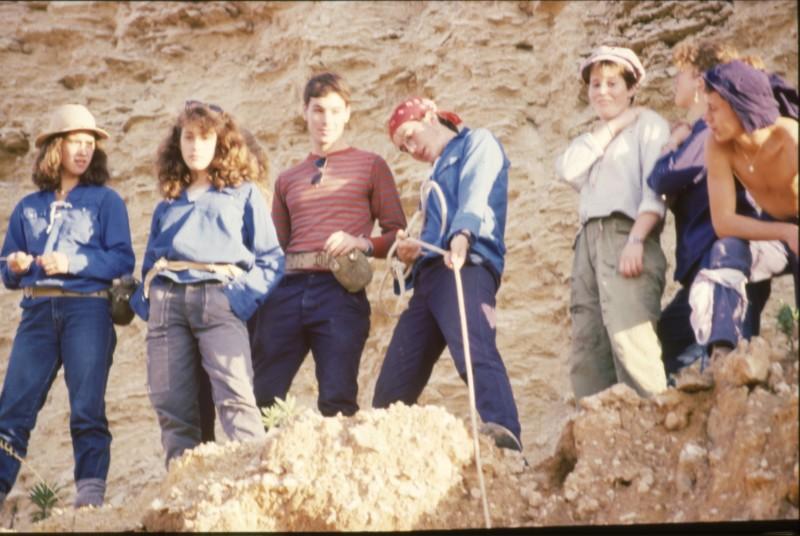 שקופית 33- 360 -גש 1985-טיול מכתשים קב חצב