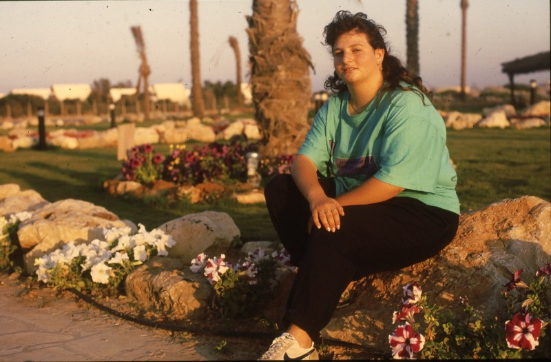 שקופית 28- 192 -גש 1988-קב לבנה-בסיום המוסד-מינה רותם