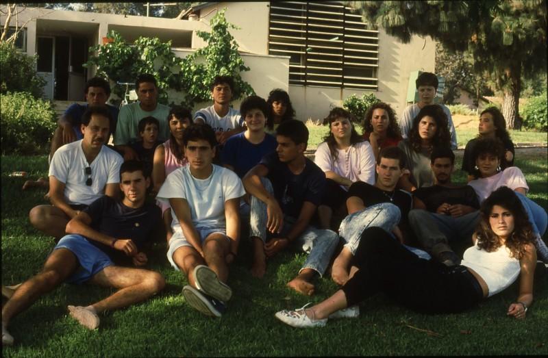 שקופית 29- 192 -גש 1988-קב לבנה-בסיום המוסד-עם ישראל רפפורט ושושנה קישינבסקי