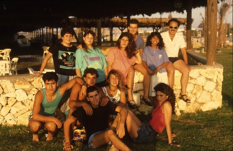שקופית 30- 192 -גש 1988-קב לבנה-בסיום המוסד-שלומי עמר ישראל רפפורט