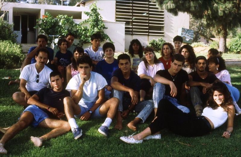 שקופית 31- 192 -גש 1988-קב לבנה-בסיום המוסד-עם ישראל רפפורט ושושנה קישינבסקי