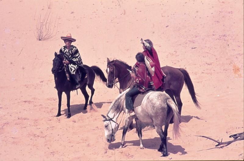 שקופית 31- 172 -ג'ש 1974-6-אריאלה-ראלי מרגלית יעקב ברק ולזיהוי על סוסים בחולות