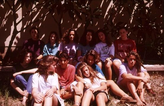שקופית 29- 49 -גן-שמואל-בנות קב' תמר 1995