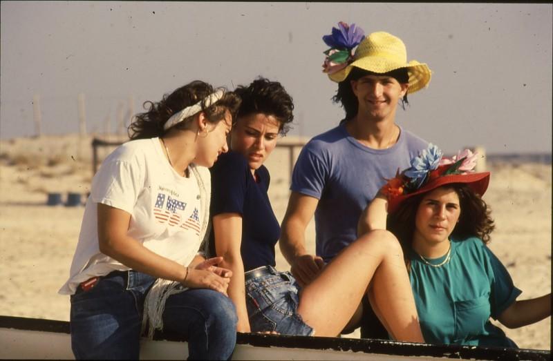 שקופית 16- 192 -גש 1988-קב לבנה-בסיום המוסד