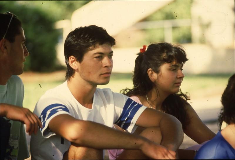 שקופית 17- 192 -גש 1988-קב לבנה-בסיום המוסד- איתן ומירי