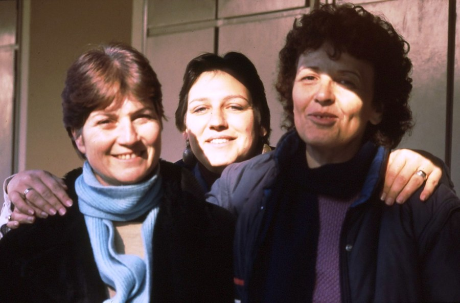 שקופית 64- 174 -ג'ש 1992-3-צוות המוסד החינוכי-רבקה גזית יונינה נירה שלח