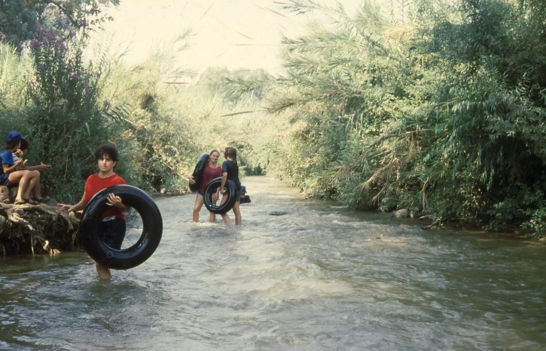 שקופית 32- 231 -ג'ש 1986-המוסד-מסע אבובים בירדן
