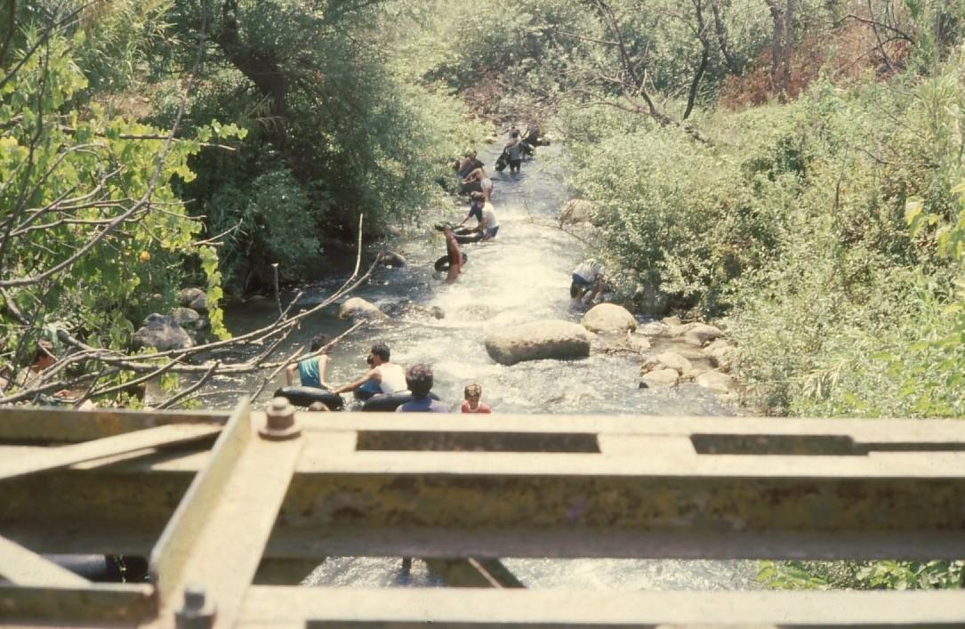 שקופית 42- 231 -ג'ש 1986-המוסד-מסע אבובים בירדן