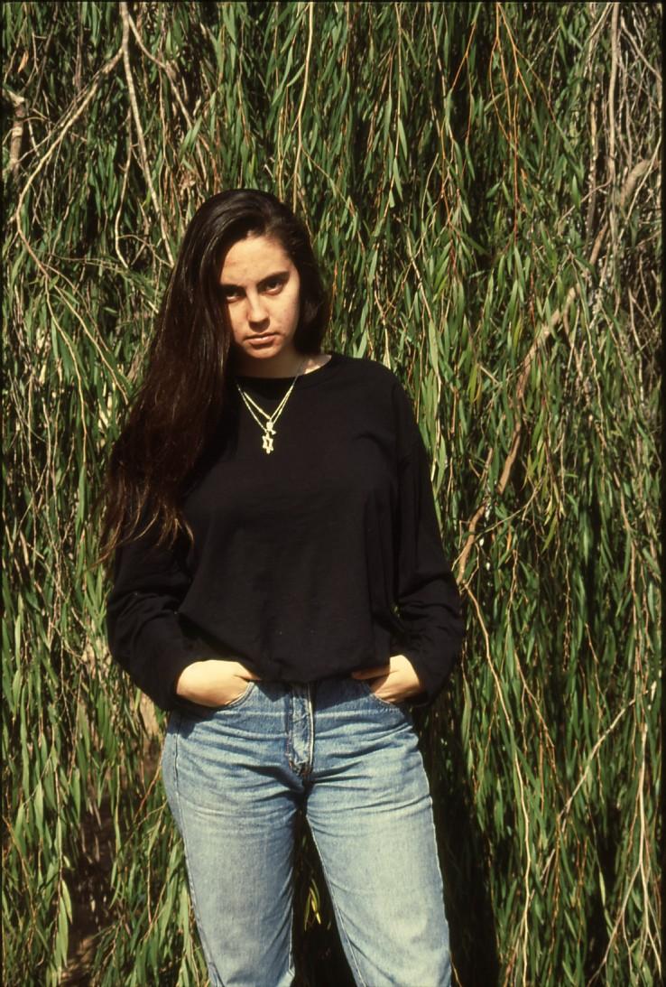שקופית 46- 236 -ג'ש 1990-קב' מורן-נערה-לזיהוי