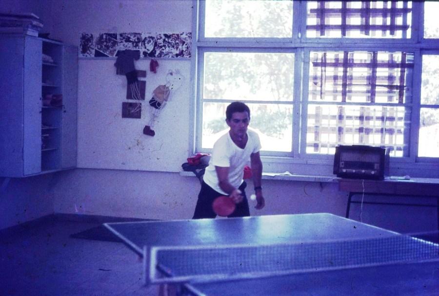 שקופית 10- 296 -ג'ש 1967-קב' חבצלת-בכיתה-גבי ניר והפינגפונג