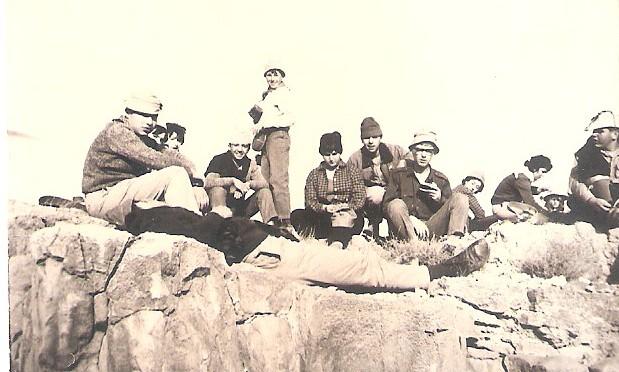 שחף טיול תנועה זאב, יעקב, נתן 1966