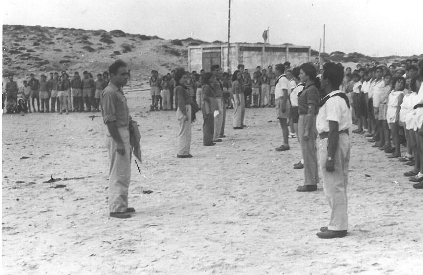 1951-2 מפקד בגבעת אולגה יהודה שי בראש יואל כהן אחיו של רן שלישית בתיה בשקה גולן
