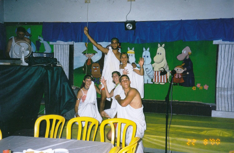 תמונה 11- 15 -ג'ש -2000-הבראה במוסד-מור לנדסמן עדי כץ רון ילין