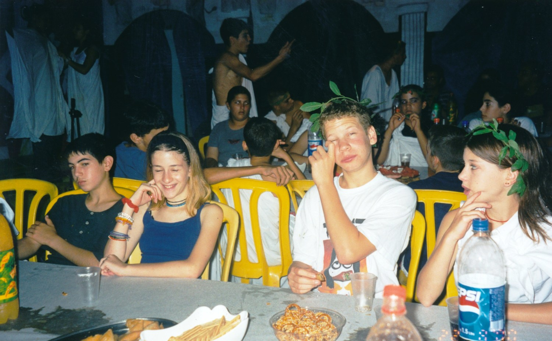 תמונה 12- 15 -ג'ש -2000-הבראה במוסד-עידן בן-משה איתי הראל אפרת רוטליד'ג עדי הרשקוביץ