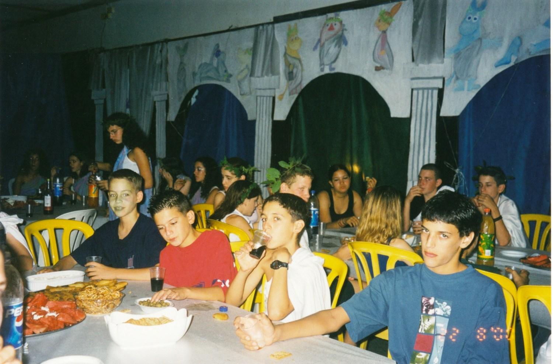 תמונה 14- 15 -ג'ש -2000-הבראה במוסד-שי הרשקוביץ' אופיר דאונוב דורון אורן