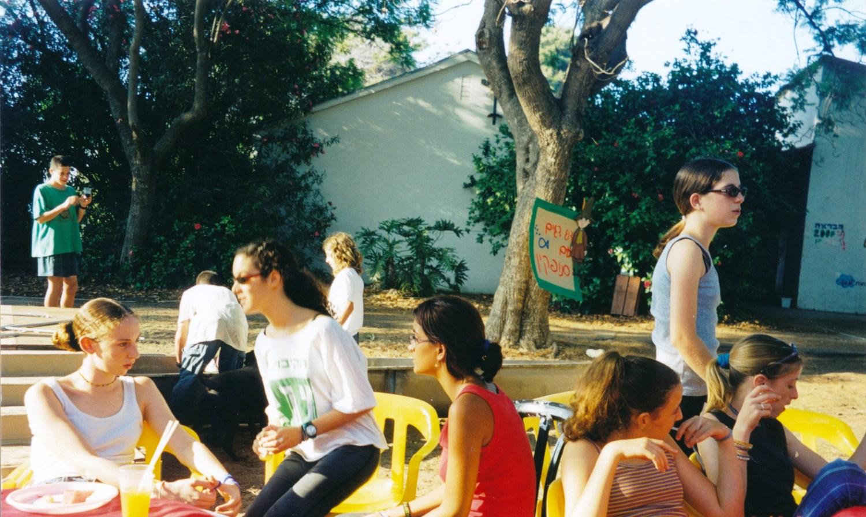 תמונה 19- 15 -ג'ש -2000-הבראה במוסד-יעל קוליקובסקי שרה הדס קציר גילי כנען אפאת אוטליד'ג מאיה גולן