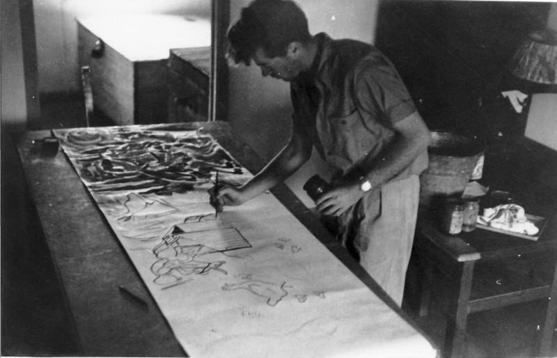 תמונה 23- 914 -גש 1953-קב שבלים-דן פרנק מצייר