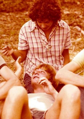 תמונה 32- 345 -גש 1979-ורד שי עם ביני מורפורגו