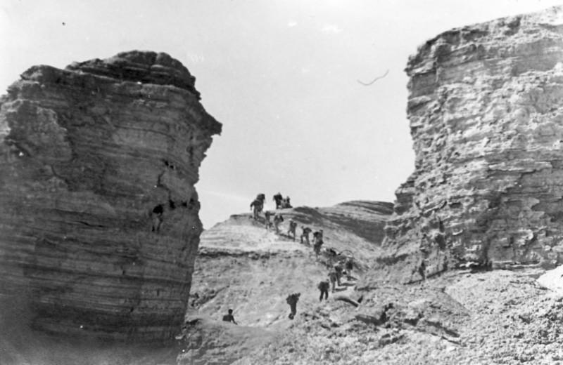 תמונה 36- 914 -גש 1953-קב שבלים-טיול למכתשים