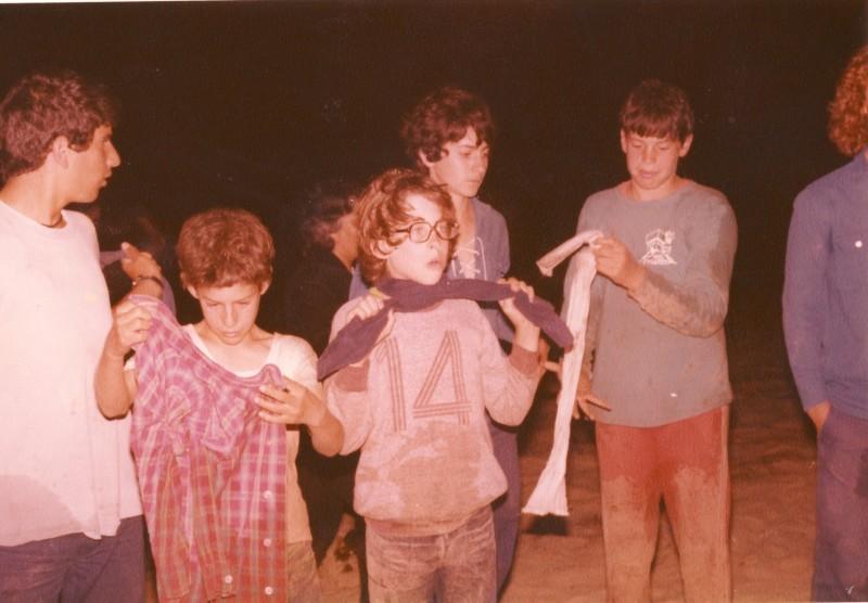 תמונה 4- 89 - השבעת קבוצת אור לתנועה 1983 - זוהר רותם ירון פרנק אסי ענבר