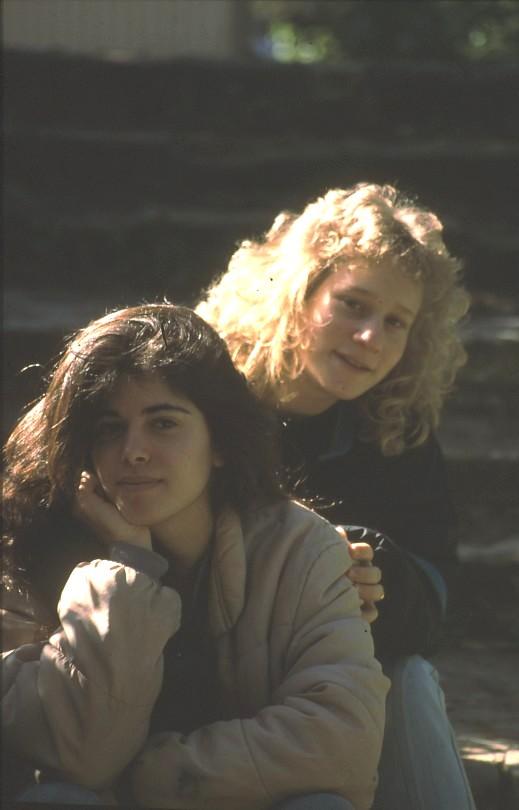 שקופית 23- 7 - קבוצת אור 1988 - אורנה הראבן תמר כהן