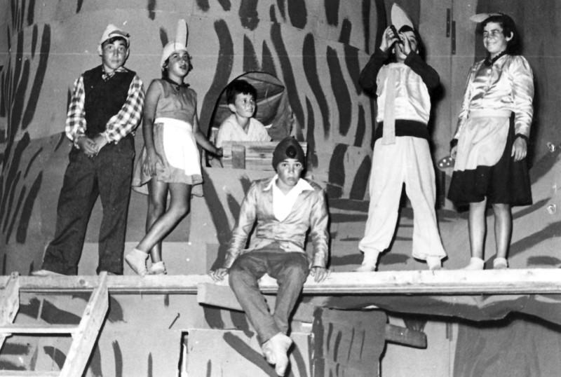 תמונה 2- 131 - הצגה של קבוצת אלומה - נאוה ונועה ליפשיץ עזרא מרמלשטיין