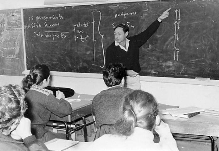 בצלאל יבנין, (יבה) בשיעור