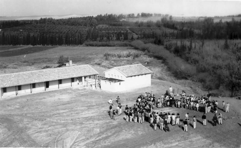 הבית הראשון במוסד 1948