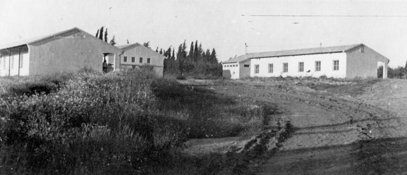 תמונה 8- 235 - שני הבתים הראשונים במוסד - שנות ה-50