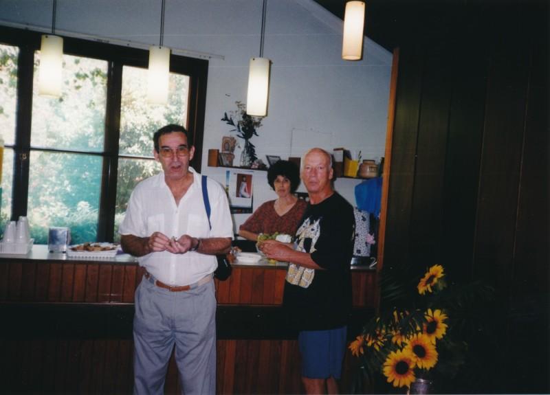 תמונה 7- 13 -ג'ש -1998-כנס קב' עופר בבית אורי-חגי ענבר נירה רז גיורא אילני