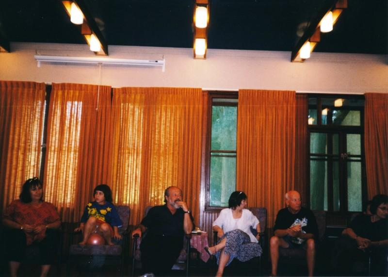תמונה 10- 13 -ג'ש -1998-כנס קב' עופר בבית אורי-שמות בסכום