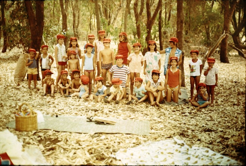 שקופית 36- 315 -ג'ש 1975-2-כנס 20 שנה לסיום המוסד של קבוצת עופר-ילדי חברי הקבוצה