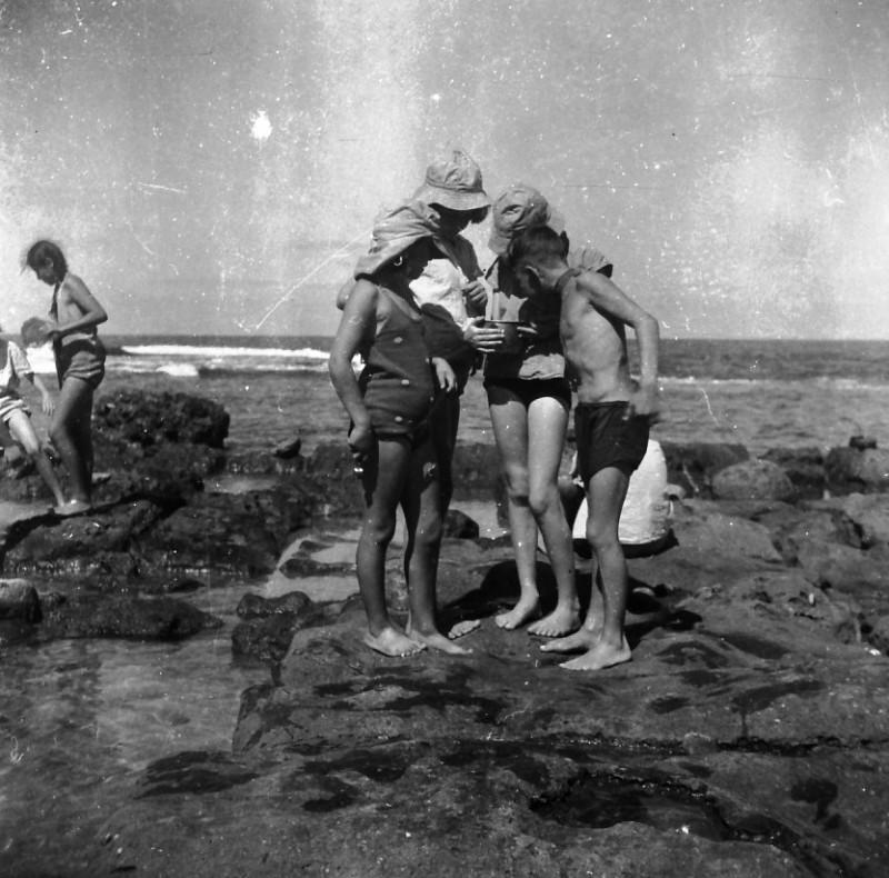 תמונה 32- 412 - קבוצת עופר בקיטנה בטנטורה 1948-9