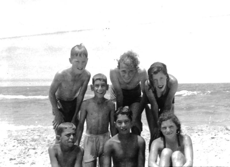 תמונה 30- 412 - קבוצת עופר בקיטנה בטנטורה 1948-9 - שמות בסכום