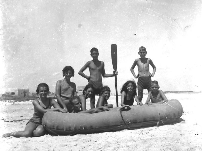 תמונה 23- 412 - קבוצת עופר בקיטנה בטנטורה 1948-9 - שמות בסכום