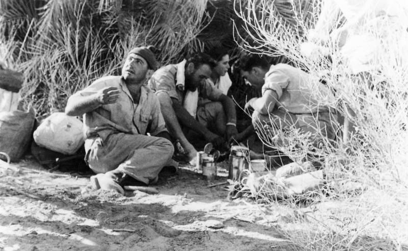 תמונה 36- 408 - קבוצת עופר - טיול למכתשים 1955 - שמות בגב התמונה ובסכום
