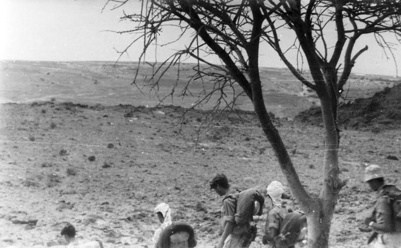 תמונה 26- 408 - קבוצת עופר - טיול למכתשים 1955 - אהוד גילאי