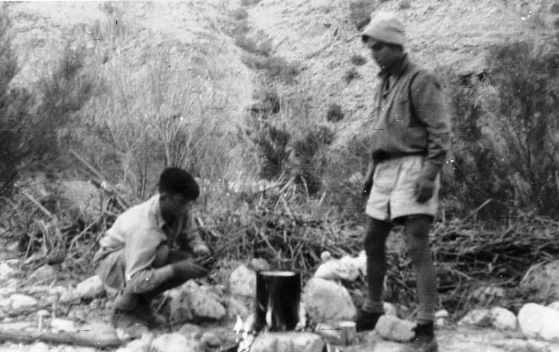 תמונה 24- 408 - קבוצת עופר - טיול למכתשים 1955 - אמנון בראון פלו שלח