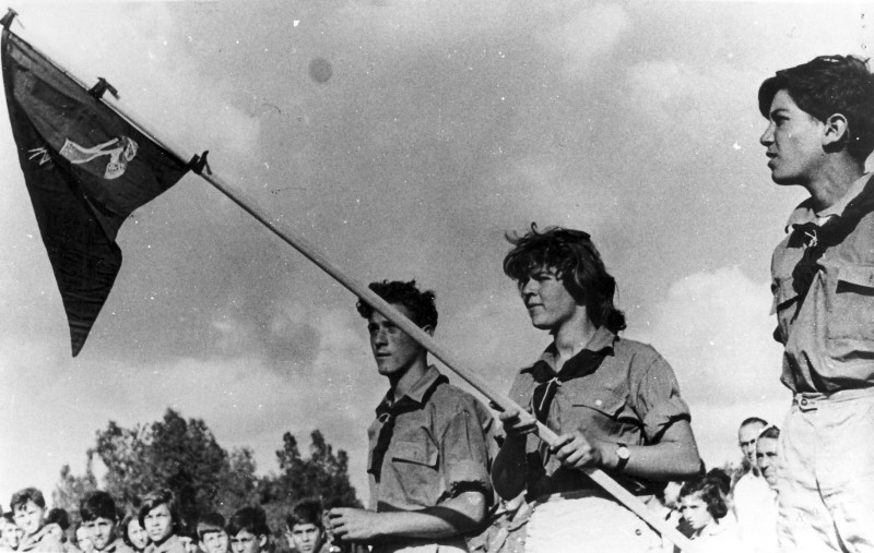 תמונה 2- 39 -ג'ש 1955-מחנה ל'ג בעומר קבוצת אילה-פרטים בסכום