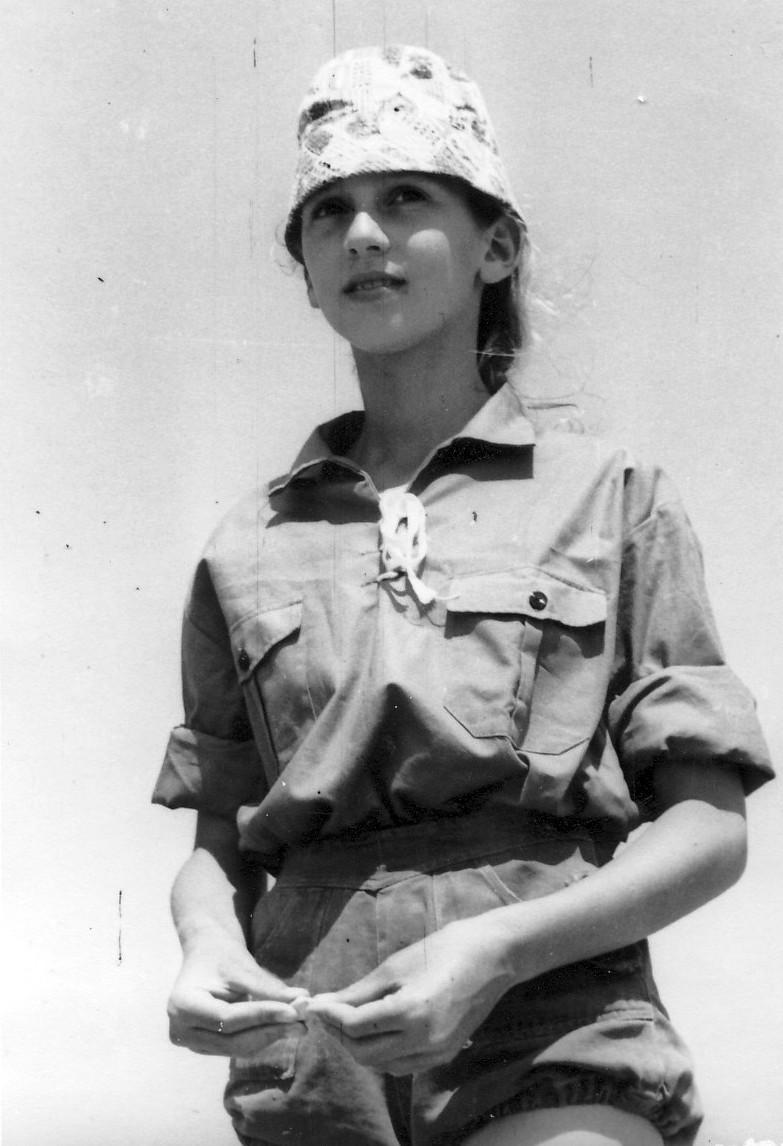 תמונה 5- 309 אורנה גלילי קבוצת עומר במחנה לג בעומר 1964