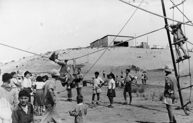 תמונה 19- 126 - פעילות תנועתית בגבעת אולגה