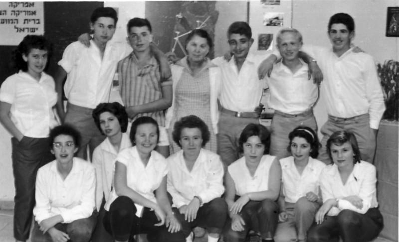 תמונה 5- 119 - פניה גילאי עם קבוצת גפן - אורנה גולן מרים בוסתן מריאן